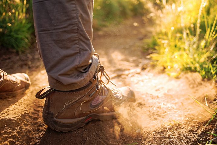 broken in boots to prevent backpacking blisters