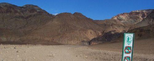 Death valley desolation visit