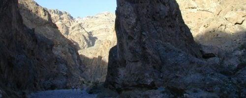Fall canyon rocks