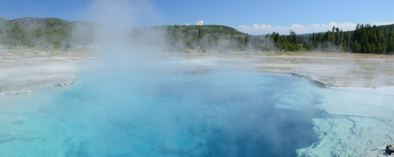 Sapphire pool and steam