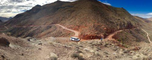 Death valley and van