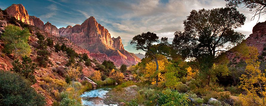 Watchman trail landscape