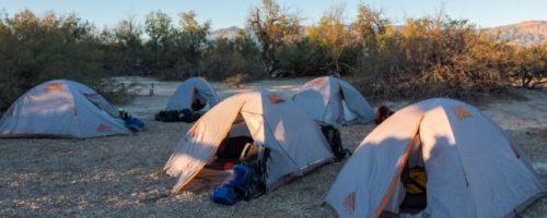 Death valley tents