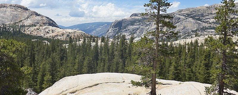 stone mountainside overlooking vista