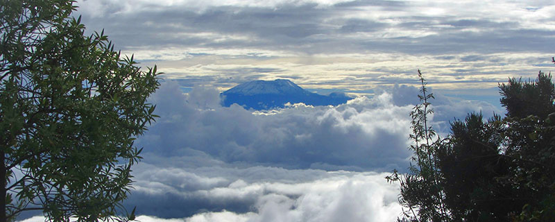 View of Kilimanjaro from afar