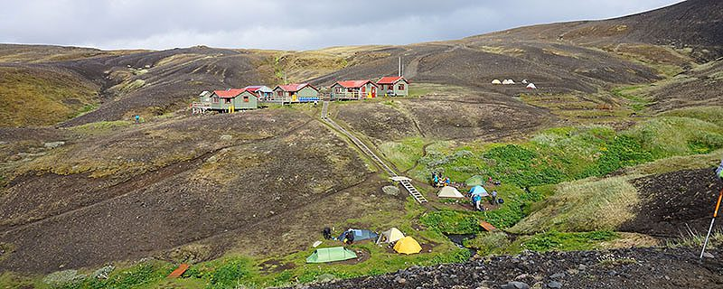 Icelandic hiking huts