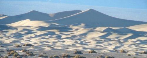 mesquite white dunes