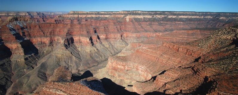 North rim canyon