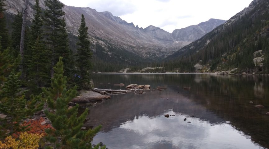 Rocky Mt Mills and lake