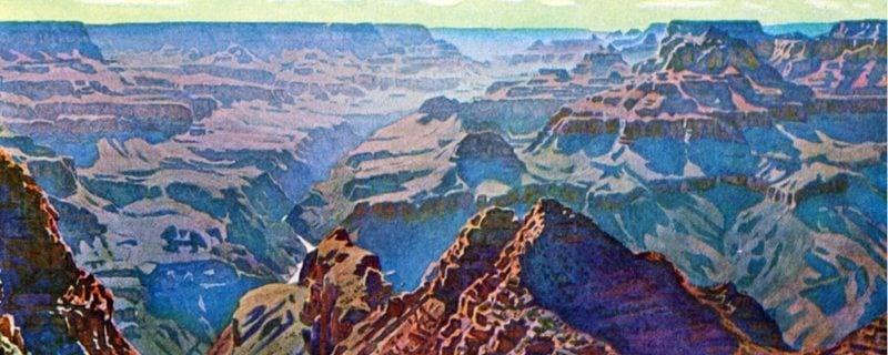 Widforss mountain Paintings