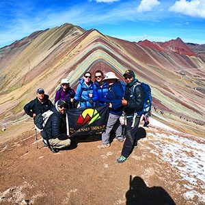 Group of hikers in Peru