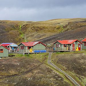 Hiking huts in Iceland