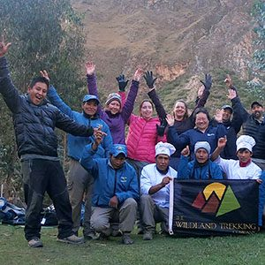 Wildland Trekking Hikers in Ecuador