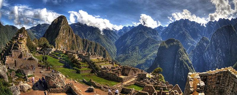 Machu Picchu Ancient City of the Incas
