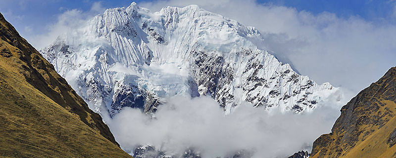 Mount Salkantay in Peru