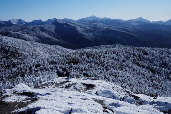 Cascade Mountain in the Adirondacks winter hiking
