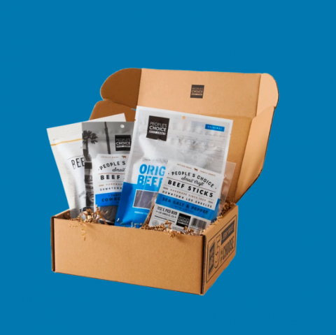 People's Choice Beef Jerky Box gift guide