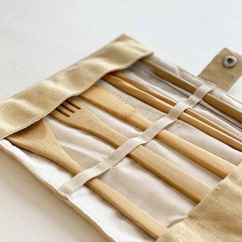 portable bamboo utensil set outdoor gear gift guide
