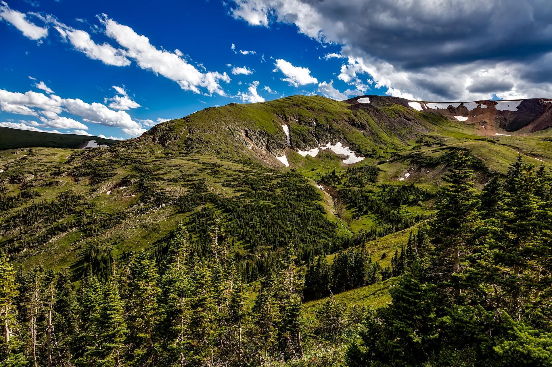 Rocky Mountain National Park landscape usa hiking