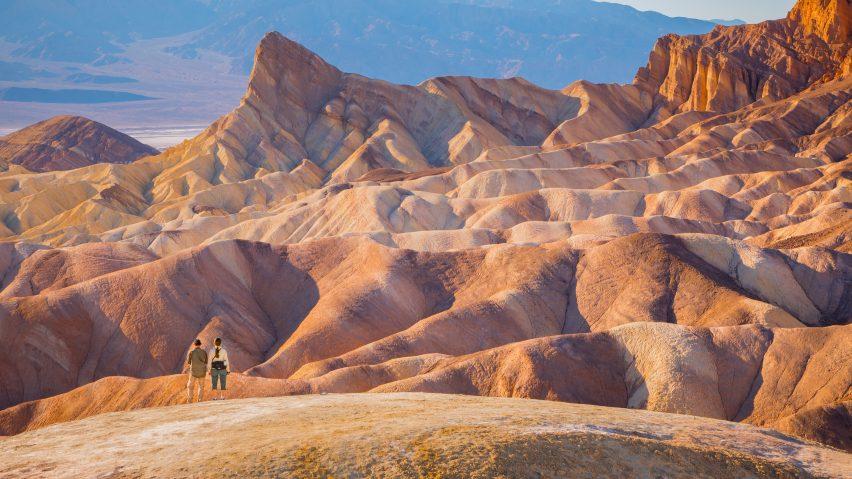 death valley, classic winter hiking destination