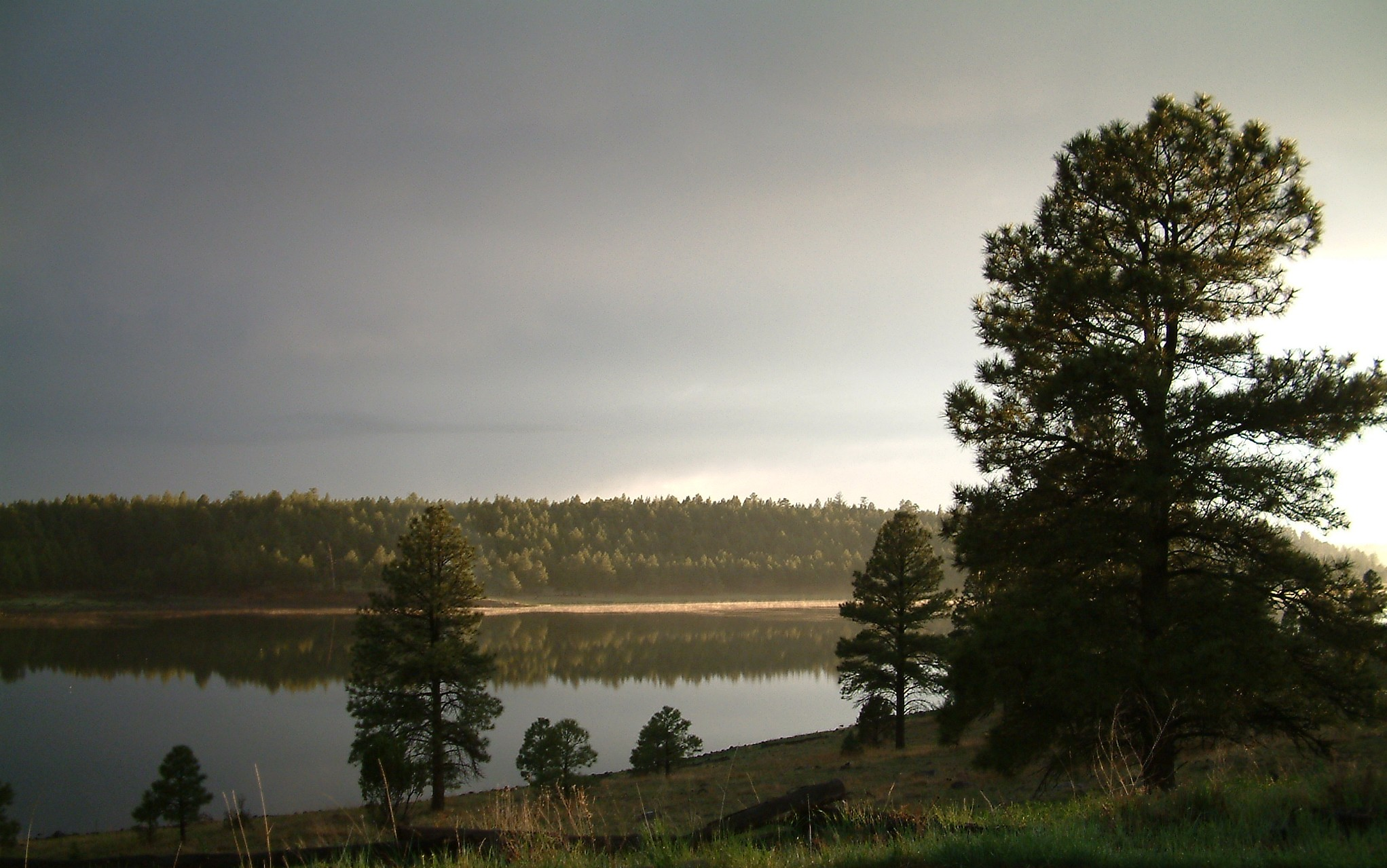 Lake Mary outside of Flagstaff, Arizona