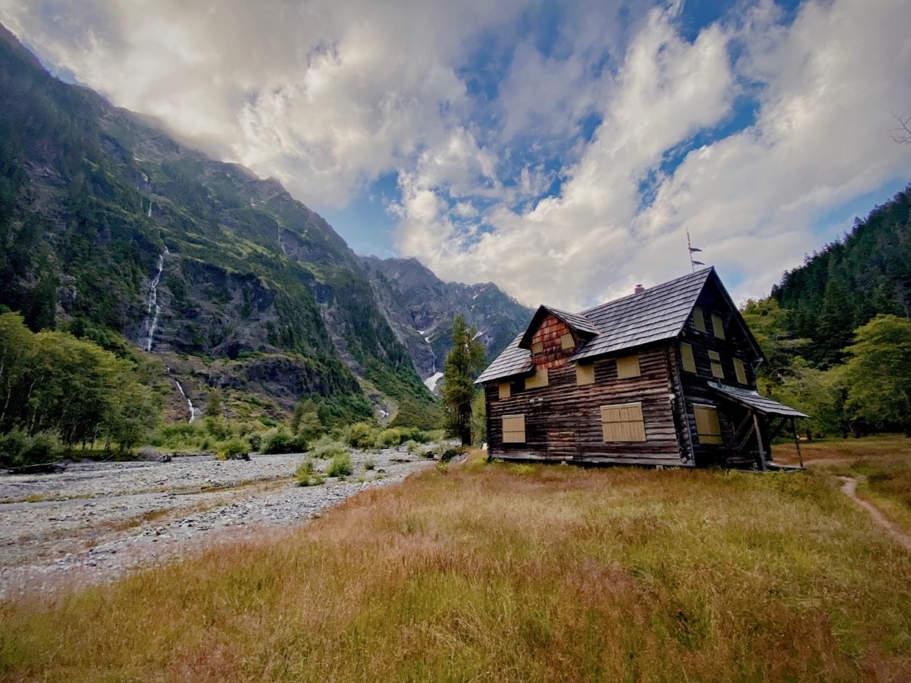 Enchated Valley chalet in Olympic National Park