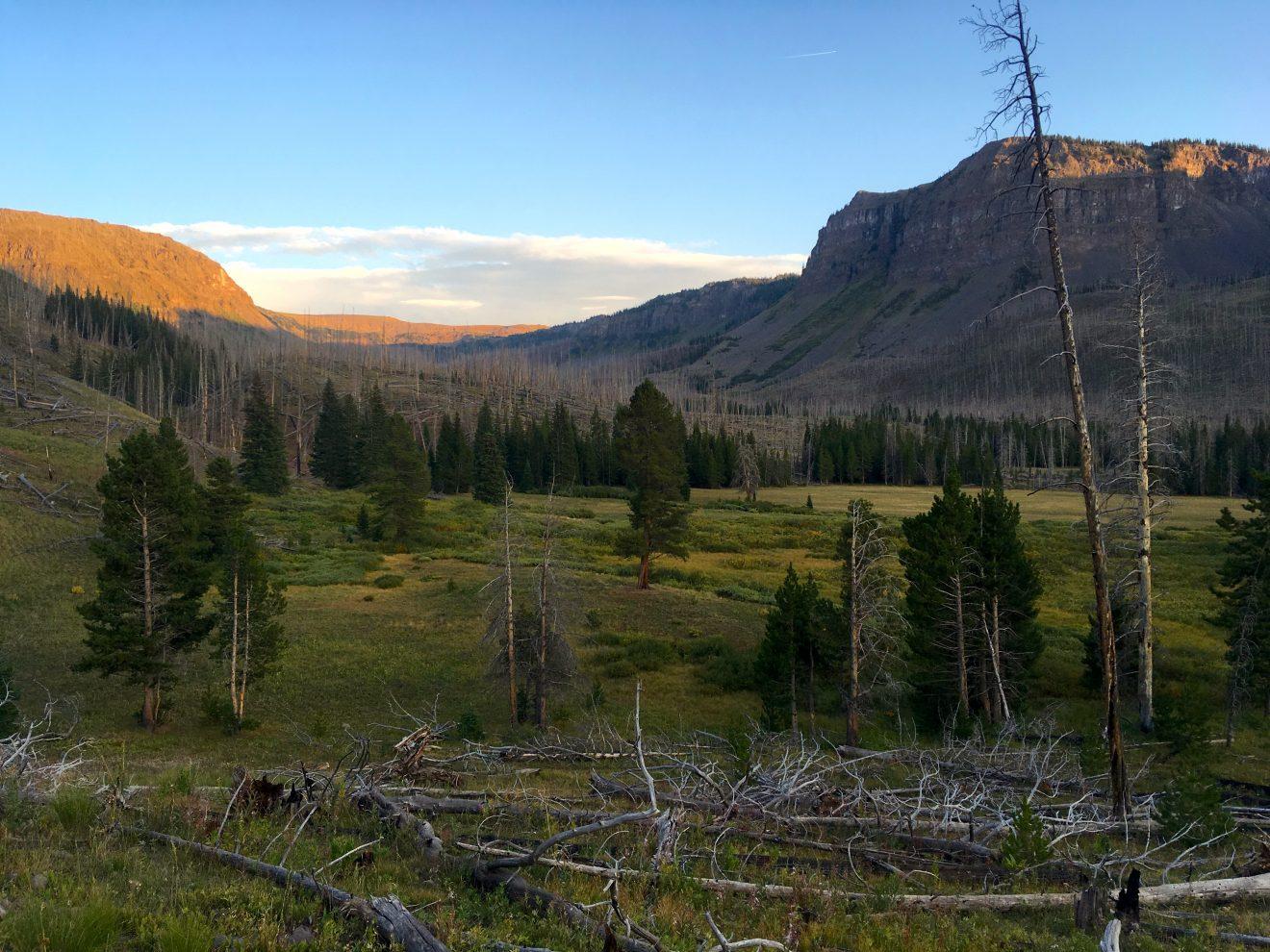 Chinese Wall Loop, Flat Tops Wilderness, Colorado