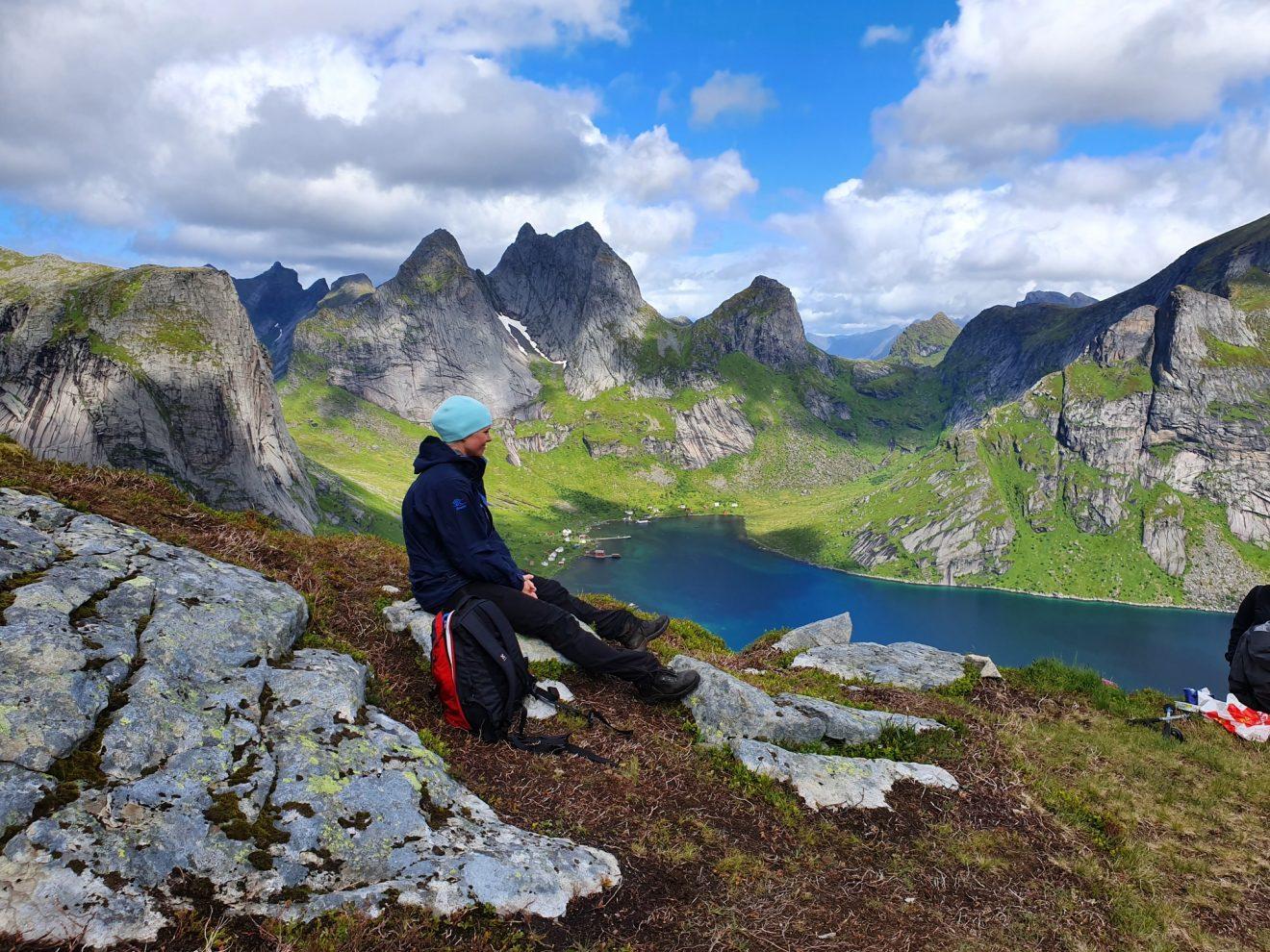 lofoten islands hiking norway