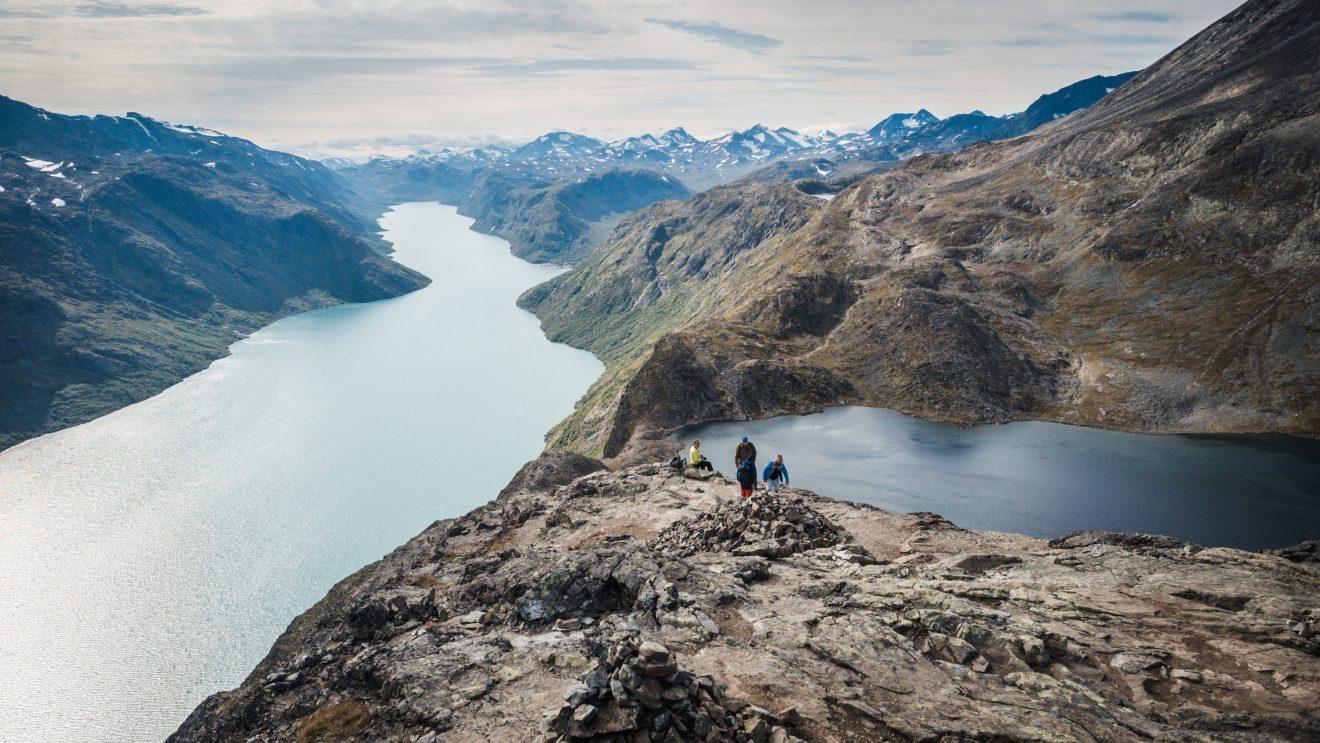 Besseggen Ridge, top hike Norway