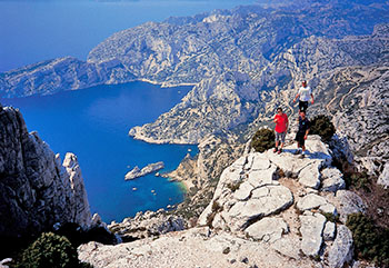 Calanques in Provence Trek Difficulty Pic