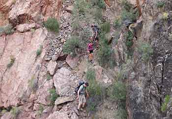 Horseshoe Mesa difficulty Pic2