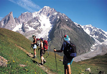 Tour du Mont Blanc Trek Difficulty Pic