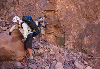 Colorado River Traverse Difficulty Pic2