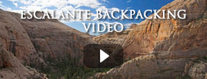 Backpacking in Escalante