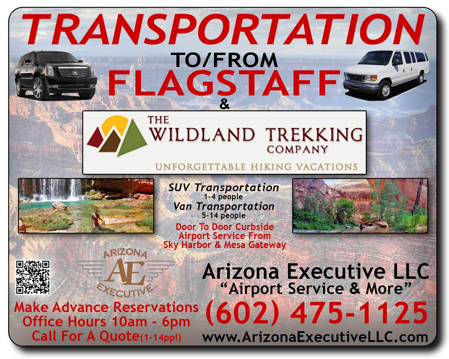 Executive Transport to/from Phoenix