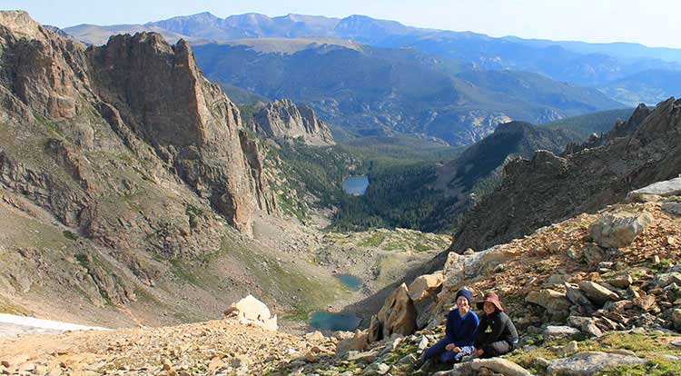 Colorado Hiking Tours and Backpacking Trips