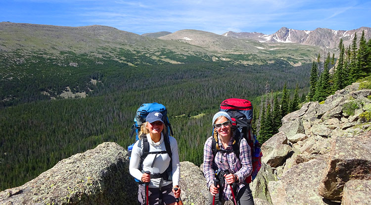 Portered Colorado Hikes