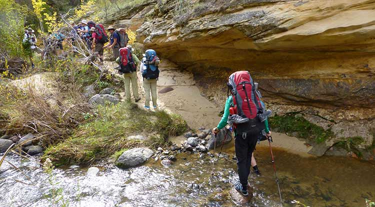 Grand Staircase-Escalante Backpacking Trips