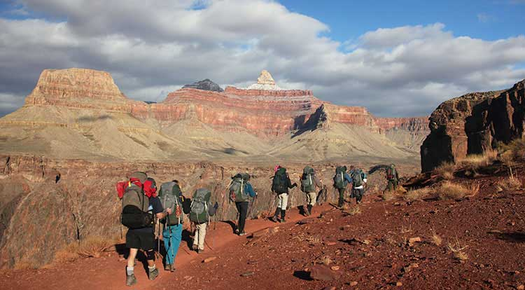 Guided Backpacking Trips