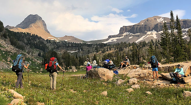Tetons Hiking Tours and Backpacking Trips