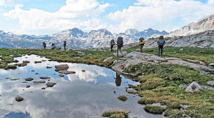 Wind River Hiking Tours and Backpacking Trips