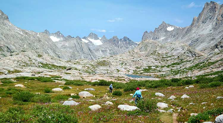 Wind River Hiking Guides