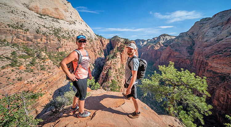Zion Natioanl Park Hiking Tours