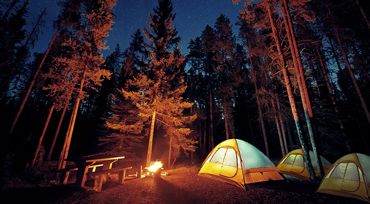 Camping Tour Campgrounds