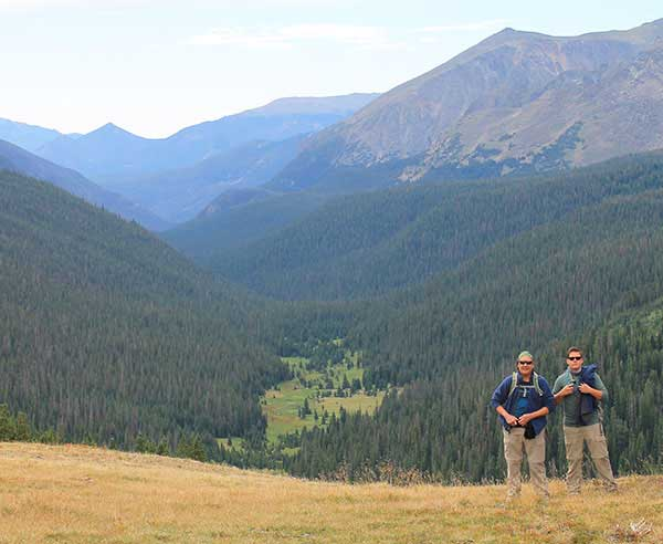Colorado Rockies Basecamp Hiking Trip