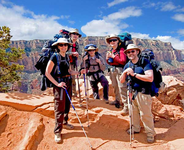 Grand Canyon Backpacking Tours