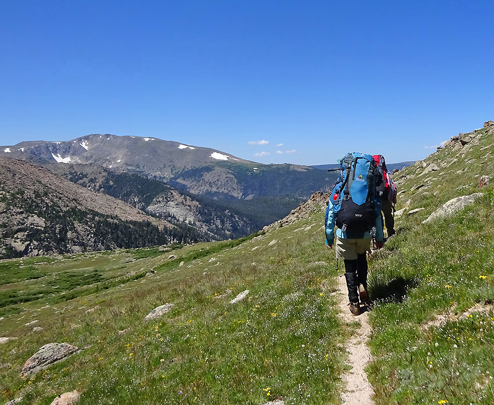 rocky mountain hiking backpacking trips wildland trekking