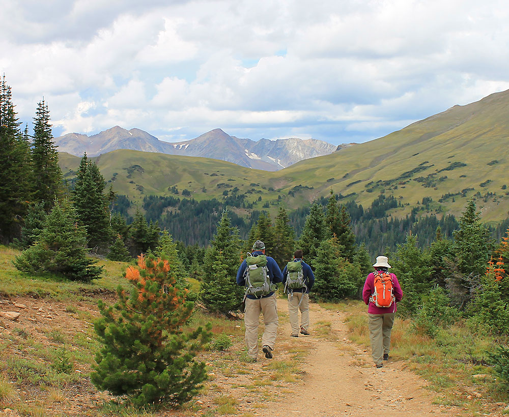 Camping-based Colorado Hiking Tours