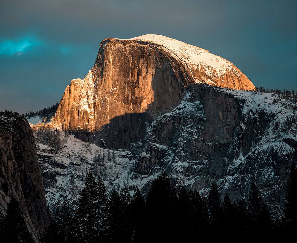 Yosemite Winter Hiking Tours