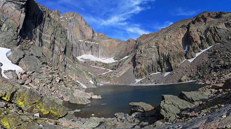 Chasm Lake Day Hike at Rocky Mountain National Park